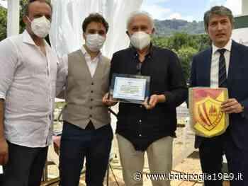 """Santa Maria di Castellabate. Consegnato il premio giornalistico """"Orchidea d'argento"""" - Battipaglia 1929"""