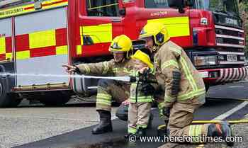 Herefordshire man follows in dad's firefighting footsteps