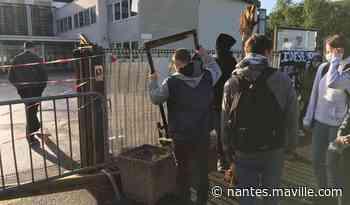 Bouaye. Un blocus organisé au lycée Alcide-d'Orbigny ce lundi matin - maville.com
