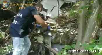 A Leini deposito incontrollato di rifiuti pericolosi: 70 tonnellate di materiale di scarto in un'area boschiva - Prima il Canavese