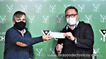Entregaron $1.860.000 destinado a instituciones deportivas locales - La Razon de Chivilcoy