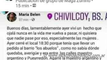 Una joven denunció un ataque y manoseo - La Razon de Chivilcoy
