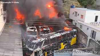 Incêndio atinge garagem de ônibus da Severo em Belo Horizonte - Adamo Bazani