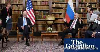 Putin and Biden meet for talks in Switzerland – in pictures