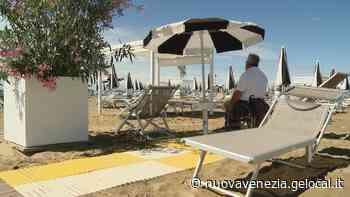 Bibione spiaggia accessibile «Progetto iniziato 3 anni fa che attira nuovi operatori» - la Nuova di Venezia