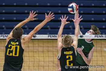 Central Dauphin falls to North Allegheny in the boys 2021 3A State Volleyball Championship game 3-1 (27-29, 25-15, 25-14, 25-16) at Rec Hall in State College, Pa., Jun. 12, 2021. - pennlive.com