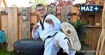 Kampfkunst vor der Webcam: Lehniner bereitet sich auf Online-Taekwondo-Prüfung vor - Märkische Allgemeine Zeitung