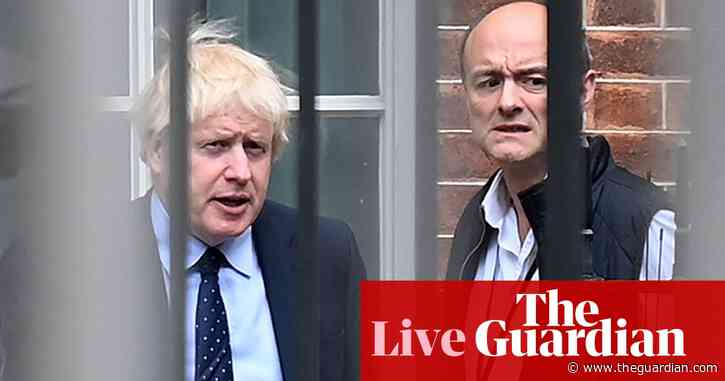 Boris Johnson plans to leave No 10 two years after next election at latest, Cummings claims – politics live