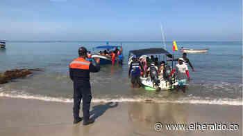 Capitanía de Puerto de Coveñas controla la temporada turística - EL HERALDO