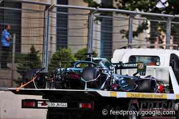 Aston Martin insists it followed Pirelli's F1 tyre measures before Baku blowout