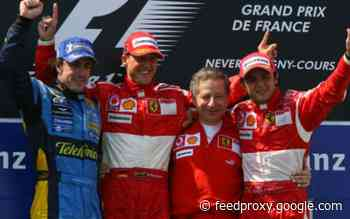 This driver was the most successful in the last ten Grands Prix of France