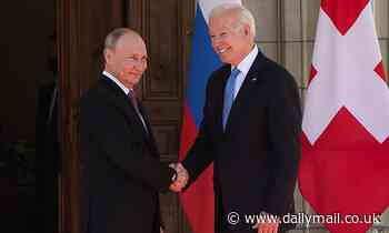White House DENIES Biden nodded when asked if he 'trusts' Putin