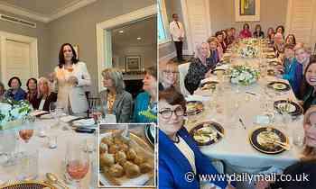 Kamala hosts female senators for bipartisan dinner