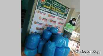 Azángaro: Incautan 15 bolsas de hoja de coca en San Antón - Diario Correo