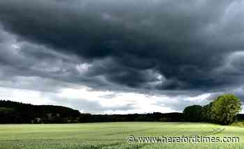 Weather: Met Office warns of thunderstorms in Herefordshire today