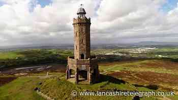 Delayed Darwen Tower repairs finally under way