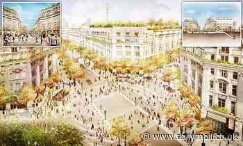 Westminster Council plans to turn Oxford Circus into Italian-style pedestrianised piazza