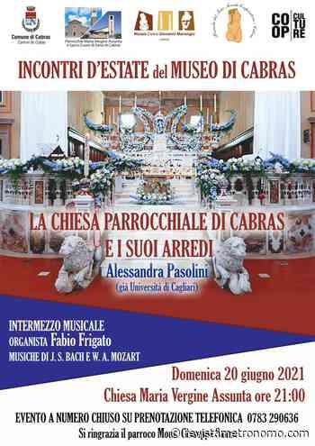 Capras. Encuentro cultural sobre la Iglesia de Santa Maria Assunta y su mobiliario   ORNEWS.it - Revista Metrónomo