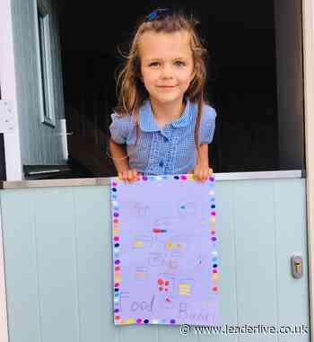 Wrexham girl, 6, in food collection campaign - LeaderLive