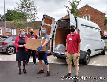 Ouse View care home donates to York food bank | York Press - York Press