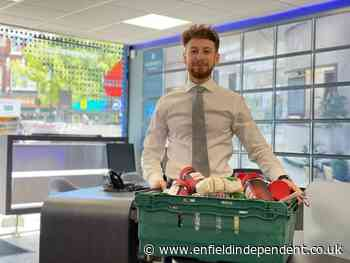 Martyn Gerrard estate agents are new food bank drop-offs in north London - Enfield Independent