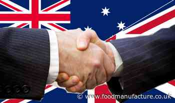 Food industry cautiously welcomes Australia free trade agreement - FoodManufacture.co.uk