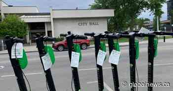 Kelowna's e-scooter pilot project plagued by problems, says city councillor - Globalnews.ca