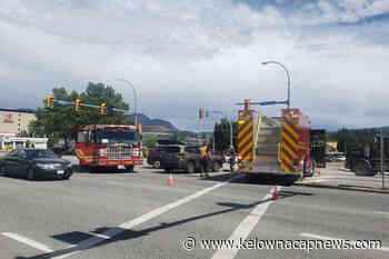 Traffic stalled by Harvey Avenue crash in Kelowna – Kelowna Capital News - Kelowna Capital News