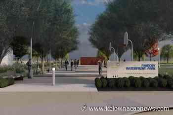Site prep starts on Kelowna's Pandosy Waterfront park – Kelowna Capital News - Kelowna Capital News