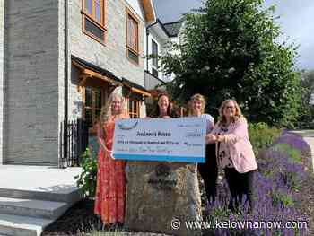 Huge donation for a Kelowna based organization - KelownaNow