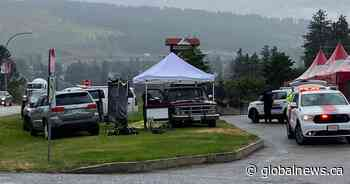 Investigation underway after woman's body discovered in West Kelowna - Global News