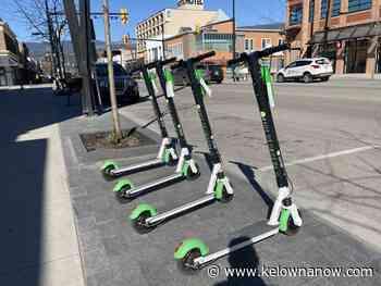 E-scooters facing change in Kelowna - KelownaNow - KelownaNow