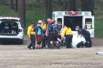 UPDATE: West Kelowna fire crews rescue injured mountain biker - Kelowna Capital News