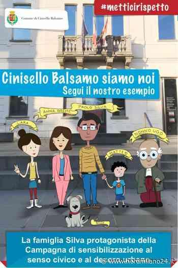 """Cinisello Balsamo, le casate Silva e Breme diventano """"cartoon"""" per sensibilizzare sul decoro urbano - Nord Milano 24"""