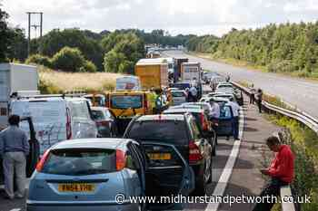 Last-minute staycationers predicted to swell summertime traffic levels - Midhurst and Petworth Observer