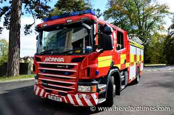 Crew on way to Herefordshire house fire delayed by parked cars