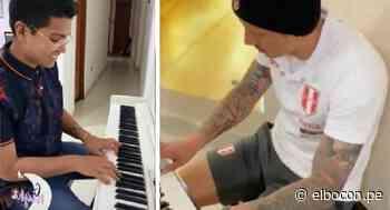 Christian Yaipén toca el piano al mismo estilo de Gianluca Lapadula y así suena (VIDEO) - El Bocón