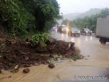 Cierran carril que conduce de Santa Tecla hacia Lourdes en carretera Los Chorros debido a derrumbes - Diario La Página