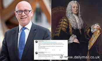 Justice minister Lord Wolfson derides barristers' chambers for changing name over slave trade links