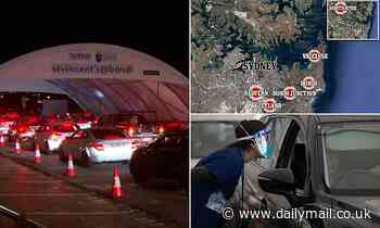 Covid-19 Australia: Sydney list of Covid exposure sites blows out to NINETEEN after Bondi infection