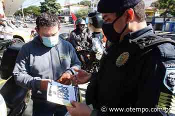 Guardas municipais de BH e Contagem promovem campanha contra uso de cerol - O Tempo
