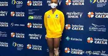 Atleta de Contagem é ouro no Pan-Americano de ginástica de trampolim - Estado de Minas