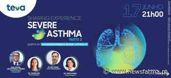"""Contagem decrescente para: 2.ª parte do webinar """"Sharing Experience in Severe Asthma"""" - Newsfarma"""