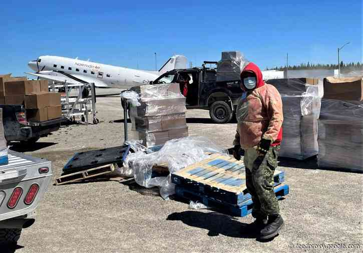 Canadian Rangers Supporting COVID-19 Efforts in Kashechewan and Northern Communities