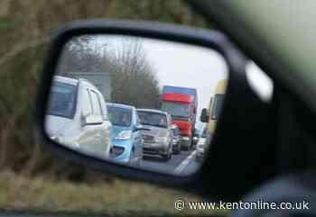 A2 closed after three-car crash