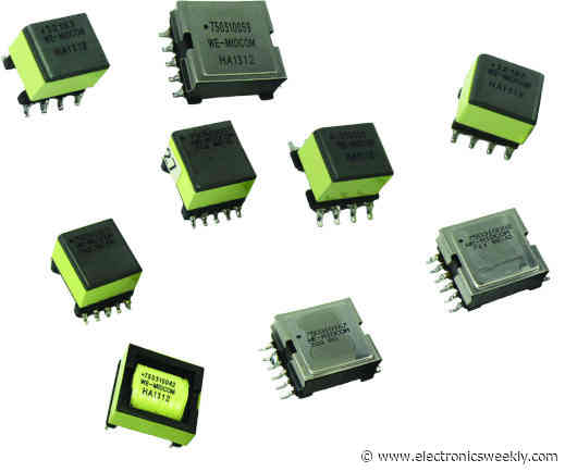 Transformers for 60W and 90W PoE++