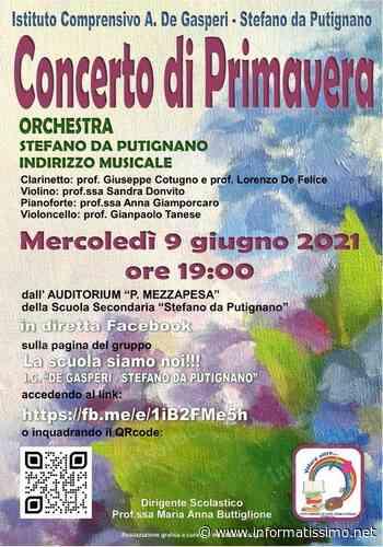 Putignano - Concerto di Primavera alla scuola De Gasperi - S. da Putignano - Putignano Informatissimo