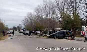 Santa Rosa del Conlara: varios heridos en un violento choque - El Diario de la República