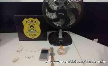Polícia Civil recupera joias, perfumes e ventilados roubados em Porto Nacional - Jornal do Tocantins
