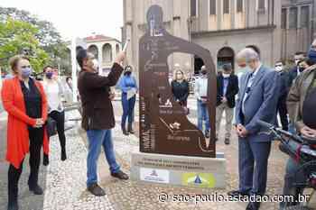Rio Preto inaugura marco inicial de peregrinação ao santuário de Aparecida - São Paulo - Estadão